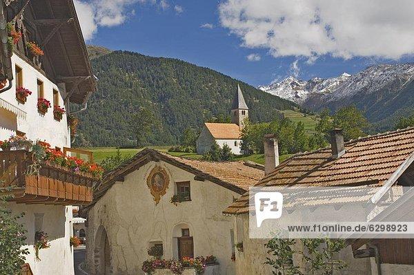 Europa Trentino Südtirol Italien Reschenpass Trentino-Südtirol