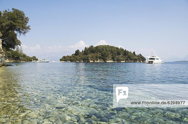 Europa Insel Griechenland Griechische Inseln Ionische Inseln