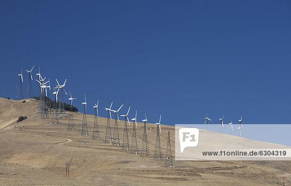 Vereinigte Staaten von Amerika USA Windturbine Windrad Windräder Verletzung der Privatsphäre 5 Neuengland 12 Kalifornien Kollektion Sekunde