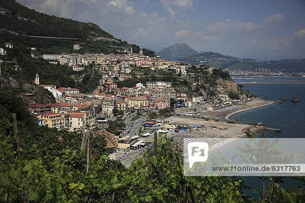 Vietri sul Mare  Cetara an der Amalfiküste  Kampanien  Italien  Europa