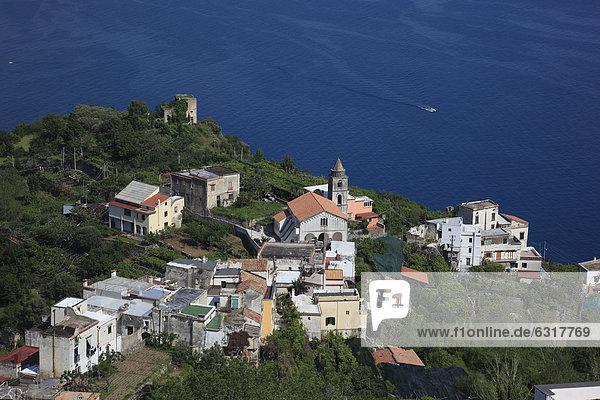 Rafello am Golf von Amalfi  Amalfiküste  Kampanien  Italien  Europa