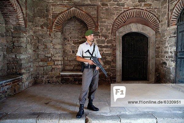 security at the Topkapı Palace  Istanbul