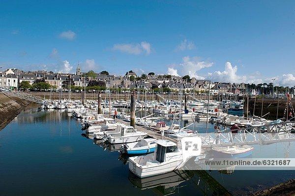 The Marina  Douarnenez France
