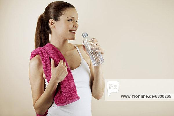 Frau  Sport  Kleidung  jung