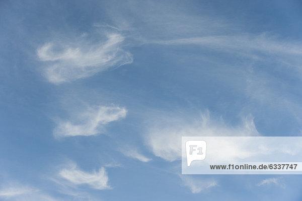 Wispy Wolken Himmel Wispy Wolken Himmel