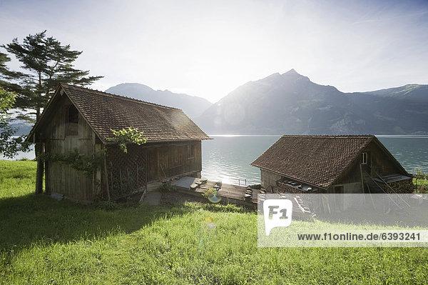Europa Schweiz Vierwaldstättersee Kanton Uri