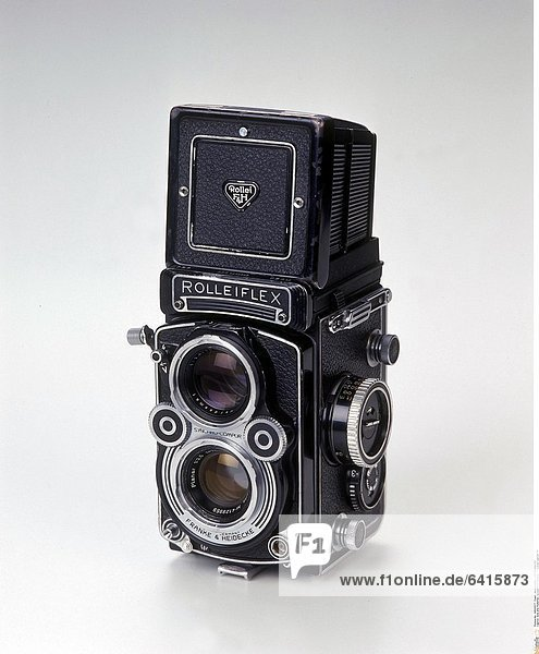 Eine alte Rolleiflex Spiegelreflexkamera *** Local Caption ***