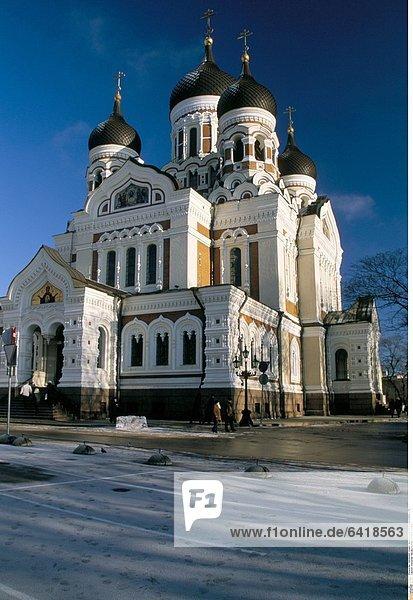 Alexander Nevsky Kirche in Tallinn  Estland