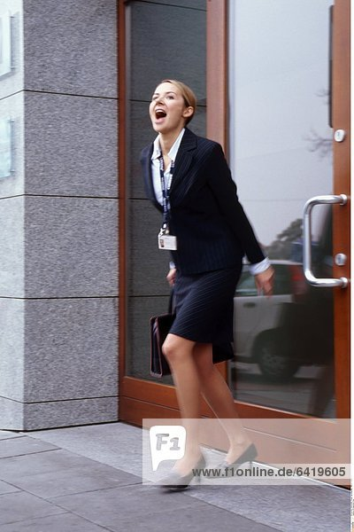 Erfolgreiche Frau