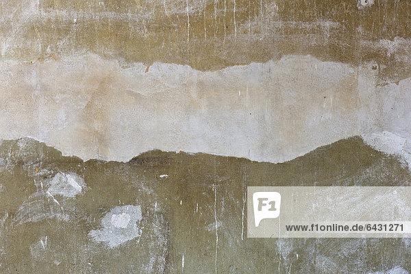 Ausbesserungen  Wand  Abstraktion  Altbau  Stuttgart  Baden-Württemberg  Deutschland  Europa