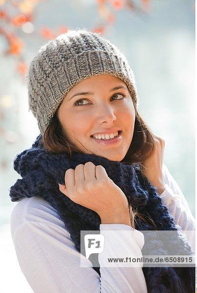 Woman winter © Lucenet Patrice/Oredia