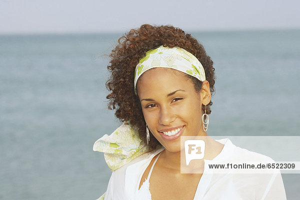 Young woman smiling for the camera