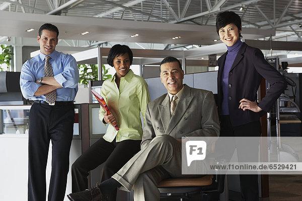 Gruppe von Firmen in office