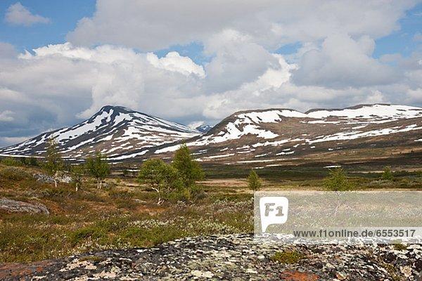 Berg  Landschaft  Schnee