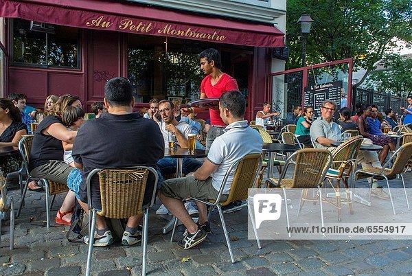 Paris  Hauptstadt  Frankreich  Getränk  Zimmer  Montmartre