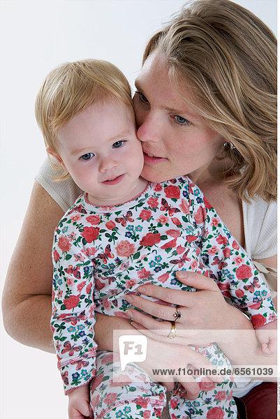 Woman tenderness baby Antoine Juliette/Oredia