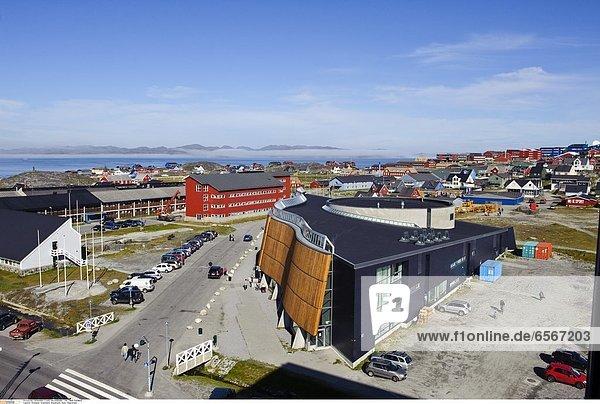 Gršnland  Greenland  WestkŸste  Nuuk  Hauptstadt
