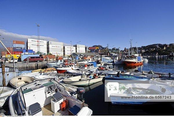 Gršnland  Greenland  Sisimiut  an der WestkŸste