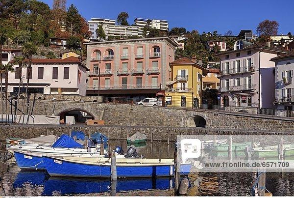 Restaurant Seven  gefuehrt von dem ehemaligen Kochweltmeister Ivo Adam  in Ascona  Ticino  Schweiz