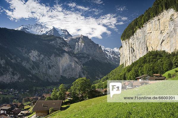 Europa Berner Oberland Schweiz Kanton Bern