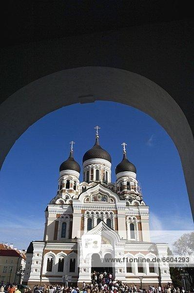 Kathedrale  Torbogen  russisch orthodox  russisch-orthodox  russisch