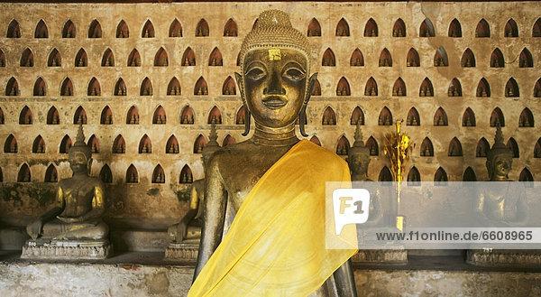 Buddha Statues Wat At Si Saket.