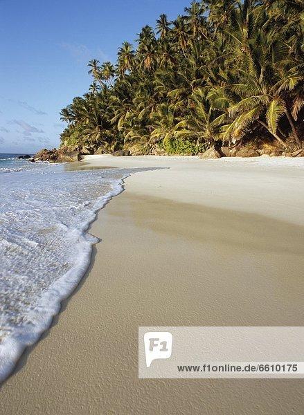 Beach On Fregate Island