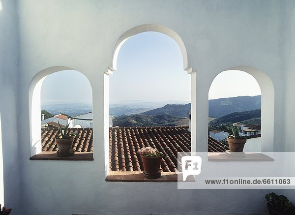 View Through The Windows