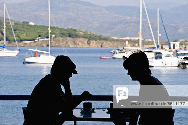 Hafen Silhouette Cafe