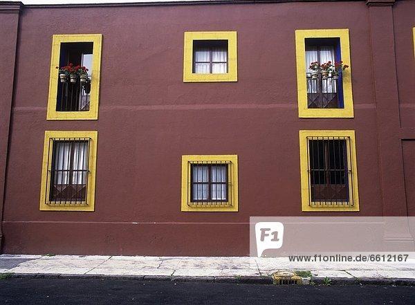 Town house facade