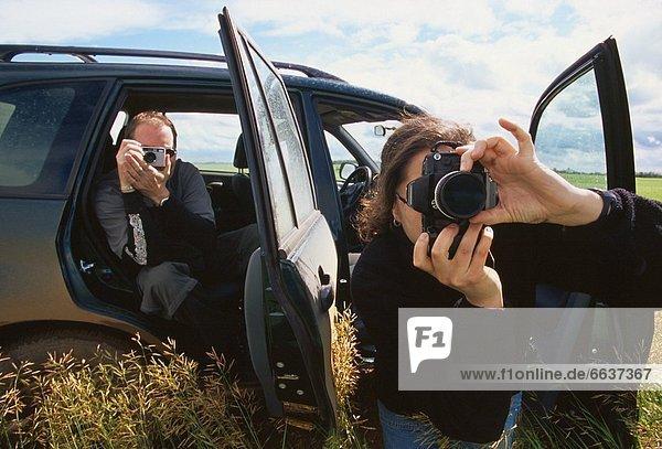 benutzen  Fotograf  Fotoapparat  Kamera