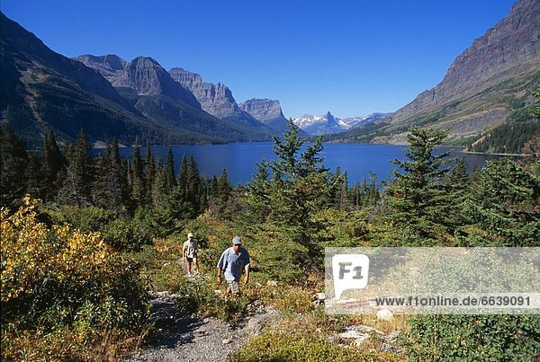wandern  Glacier Nationalpark
