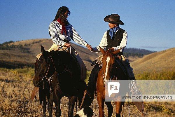 reiten - Pferd  Cowboy  Cowgirl