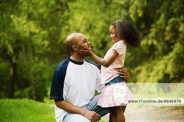 Menschlicher Vater  Tochter