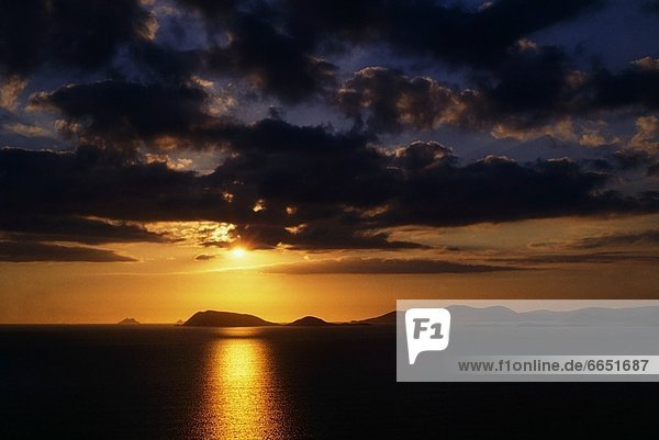 Kerry County  Blasket Islands  Irland