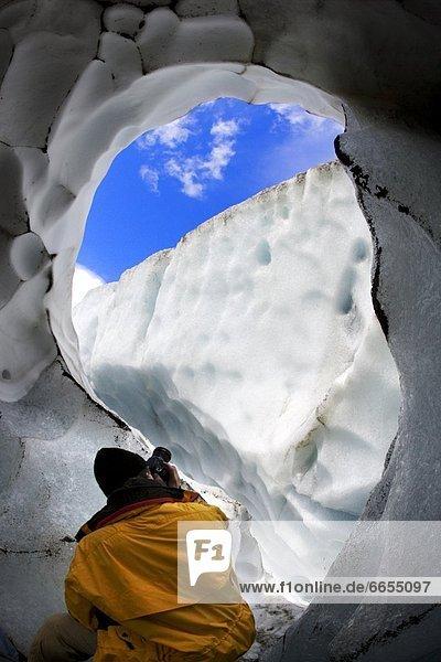 Eis  Fotograf  Höhle