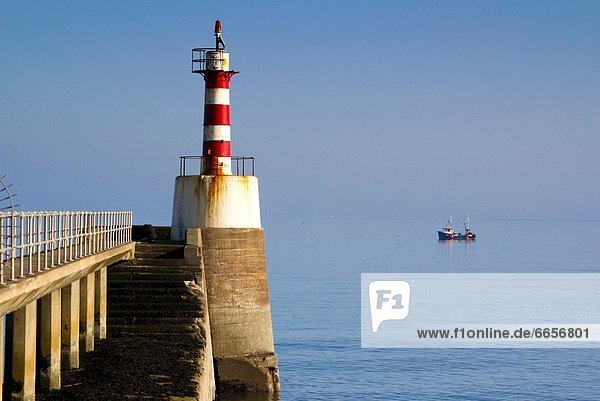 Leuchtturm  England  Northumberland