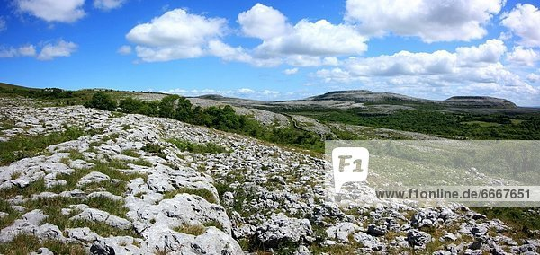 Die Burren Karstlandschaft  County Clare  Irland