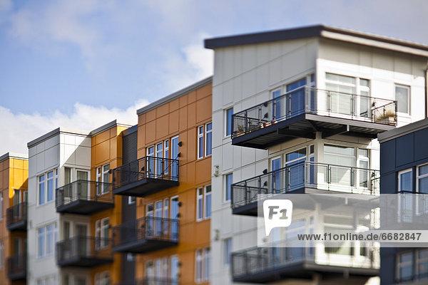 modern Wohnhaus Apartment