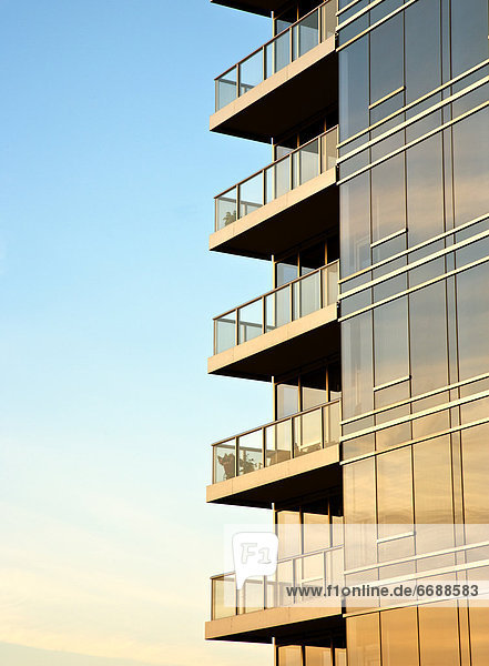 Hochhaus  Balkon