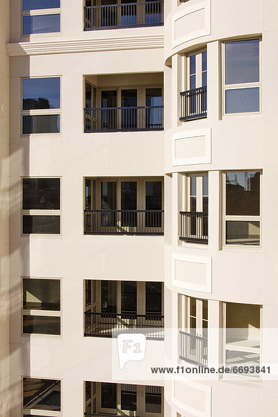 Balkon Apartment leer