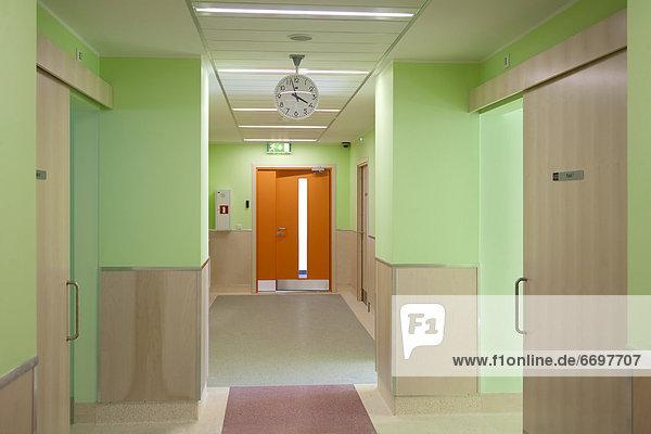 Empty Krankenhaus Flur
