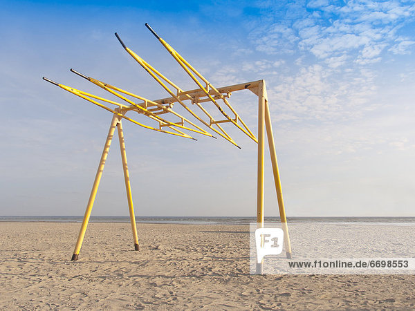 Swing Set on the Beach
