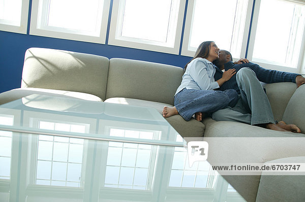 Couch  streicheln