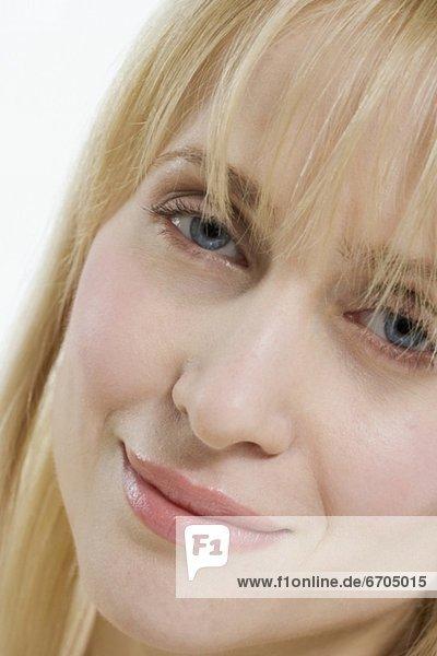 Frau  lächeln  Close-up  close-ups  close up  close ups  Freundlichkeit