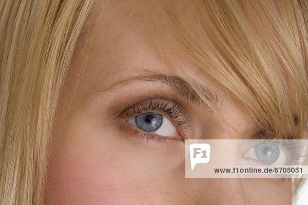 blond  Frau  Close-up  close-ups  close up  close ups