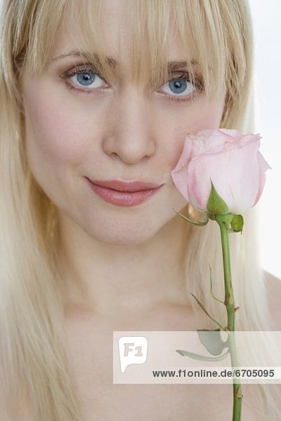 Frau  pink  Rose