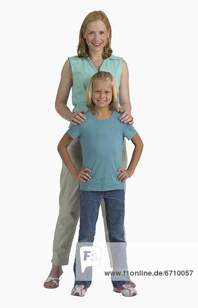 ruhen  Menschliche Schulter  Schultern  schießen  Studioaufnahme  Mutter - Mensch