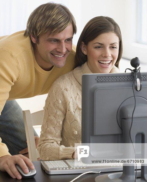 Computer lächeln Webcam