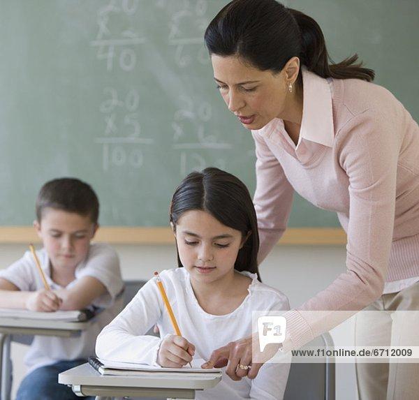 Hilfe  Lehrer  Student